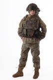 Девушка 3 армии стоковые фотографии rf