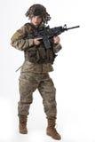 Девушка 7 армии стоковое фото rf