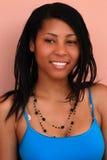 девушка афроамериканца милая Стоковые Фотографии RF