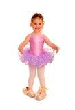 девушка балерины меньшие ботинки pointe Стоковое Изображение