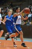девушка баскетбола Стоковые Фото