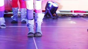 Девушка балета танцев видеоматериал