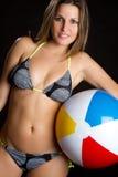 девушка бикини стоковая фотография rf
