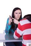 девушка бой даты мальчика Стоковое Изображение