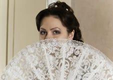 девушка вентилятора Стоковое Фото
