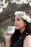 Девушка весны Стоковое Изображение
