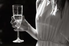 девушка вечера платья стоковое фото rf