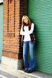 девушка входа подростковая стоковые изображения rf