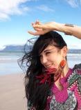 Девушка в восточных одеждах Стоковая Фотография