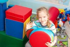 девушка в детском саде Стоковые Изображения