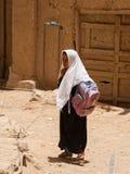 Девушка в Иемене Стоковые Фото