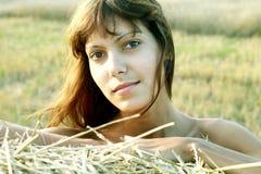 Девушка в коробке Стоковое Изображение RF