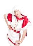 Девушка в национальном платье Стоковые Изображения RF