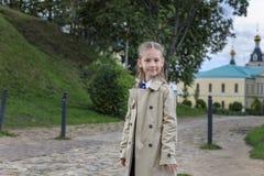 Девушка в парке стоковое фото rf