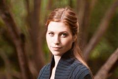 Девушка в парке Стоковые Фотографии RF
