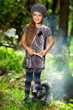Девушка в парке Стоковая Фотография RF