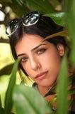 Девушка в природе Стоковая Фотография RF