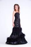 Девушка в платье Стоковые Изображения RF