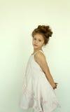 Девушка в платье Стоковое фото RF