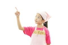 Девушка в рисберме стоковые фото