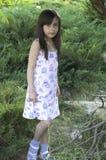 Девушка в сельской местности Стоковые Изображения