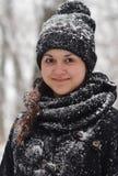 Девушка в снежке Стоковая Фотография RF