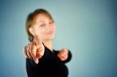 Девушка в черный танцевать колготков стоковые изображения