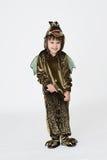 Девушка в costume масленицы Стоковое фото RF