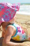 Девушка в swimsuit Стоковая Фотография RF