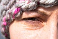 Девушка глаза Стоковое Изображение