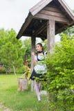 Девушка горничной японского стиля милая Стоковая Фотография RF