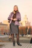 девушка города Стоковое Изображение