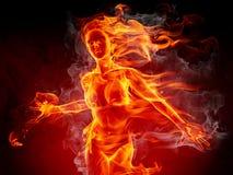 девушка горячая Стоковые Изображения RF