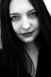 девушка готская Стоковое Фото
