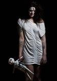 девушка демона Стоковые Фотографии RF