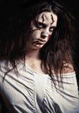 девушка демона Стоковая Фотография