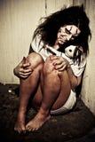 девушка демона Стоковые Изображения