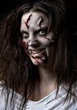 девушка демона Стоковое фото RF