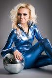 девушка диско Стоковое фото RF