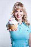 девушка дня рождения стоковые фотографии rf