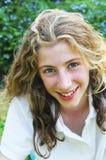 девушка довольно подростковая Стоковая Фотография
