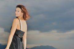 девушка естественная Стоковое фото RF
