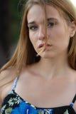 девушка естественная Стоковое Изображение RF