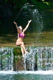 Девушка лета Стоковая Фотография RF