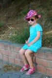 Девушка лета Стоковая Фотография