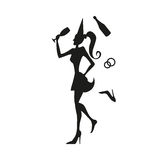 Девушка женщины женщины Стоковое Изображение RF