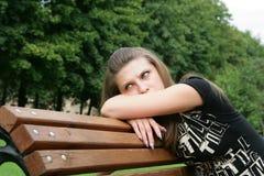 девушка заботливая Стоковые Фотографии RF