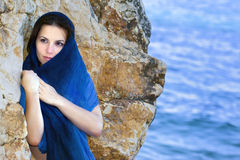 девушка загадочная Стоковое фото RF