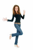 девушка задиры Стоковая Фотография RF