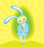девушка зайчика бесплатная иллюстрация